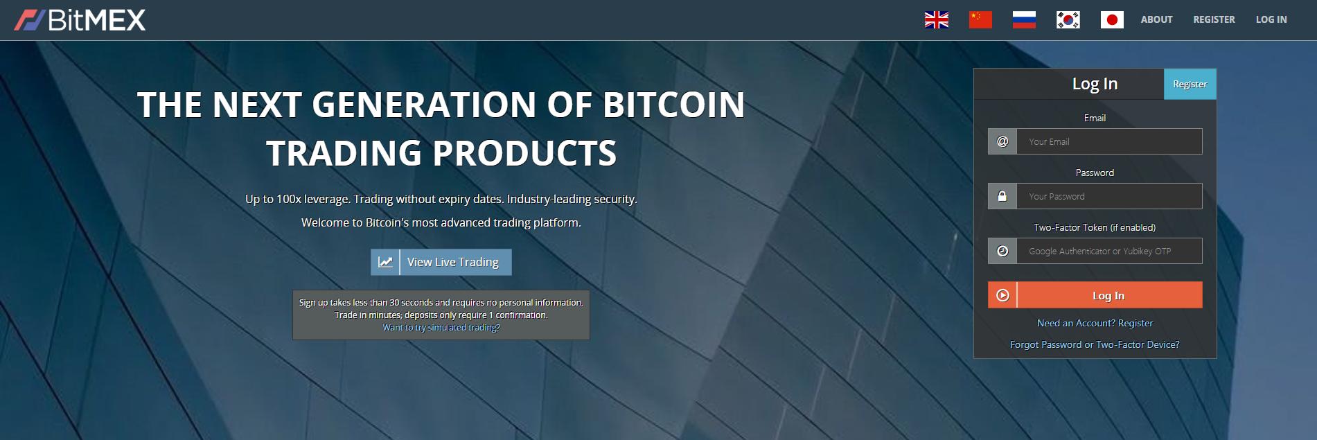 BitMEX Review