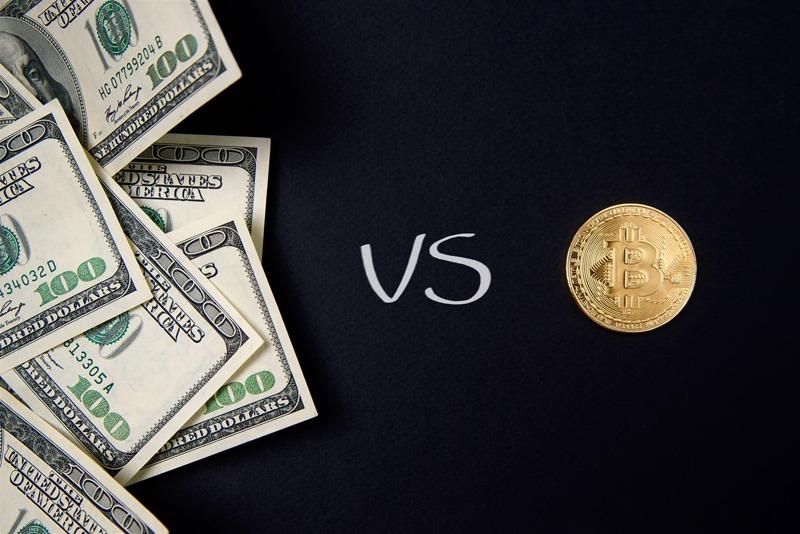 crypto vs cash
